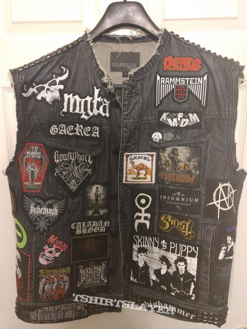 New jacket. Mostly finished