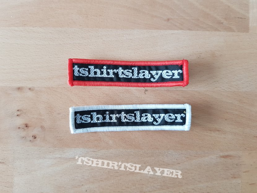 tshirtslayer - limited supporter's only - patches