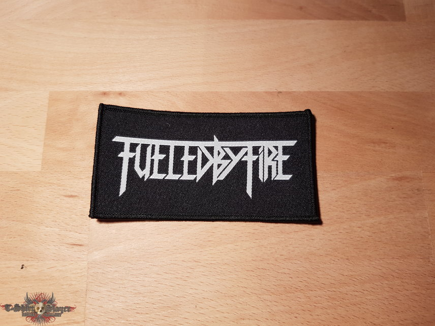 Fueled By Fire - Logo - patch