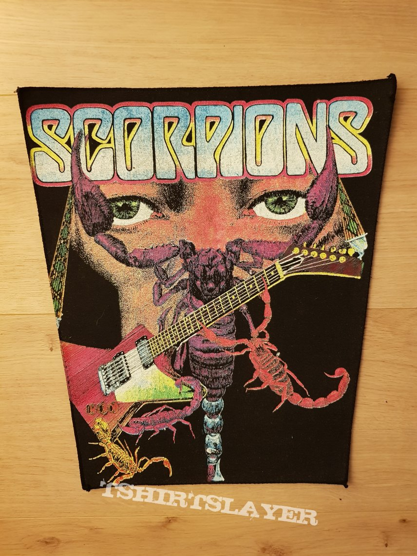 Scorpions - vintage backpatch