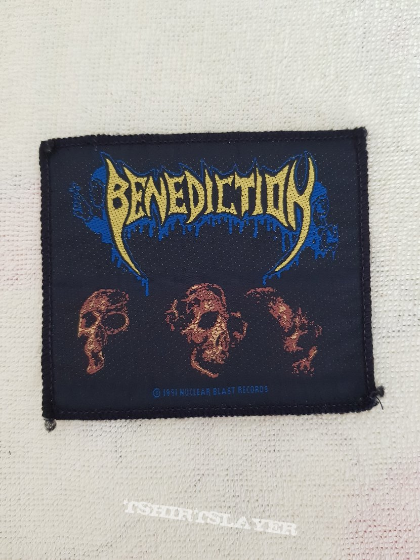 Benediction - The Grand Leveller - vintage patch
