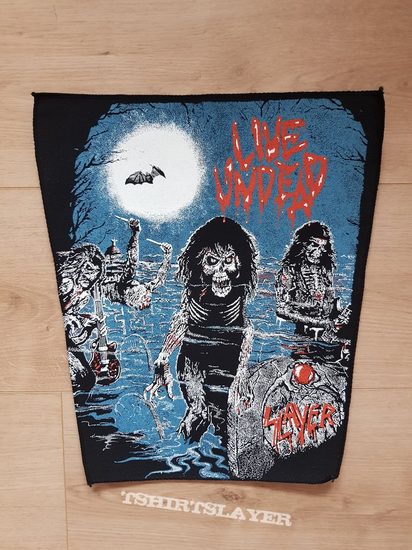 Slayer - Live Undead - backpatch