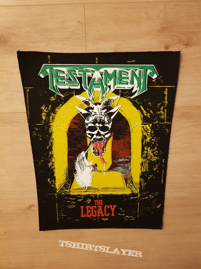 Testament - The Legacy - vintage backpatch