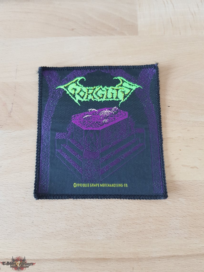 Gorguts - Considered Dead - vintage patch
