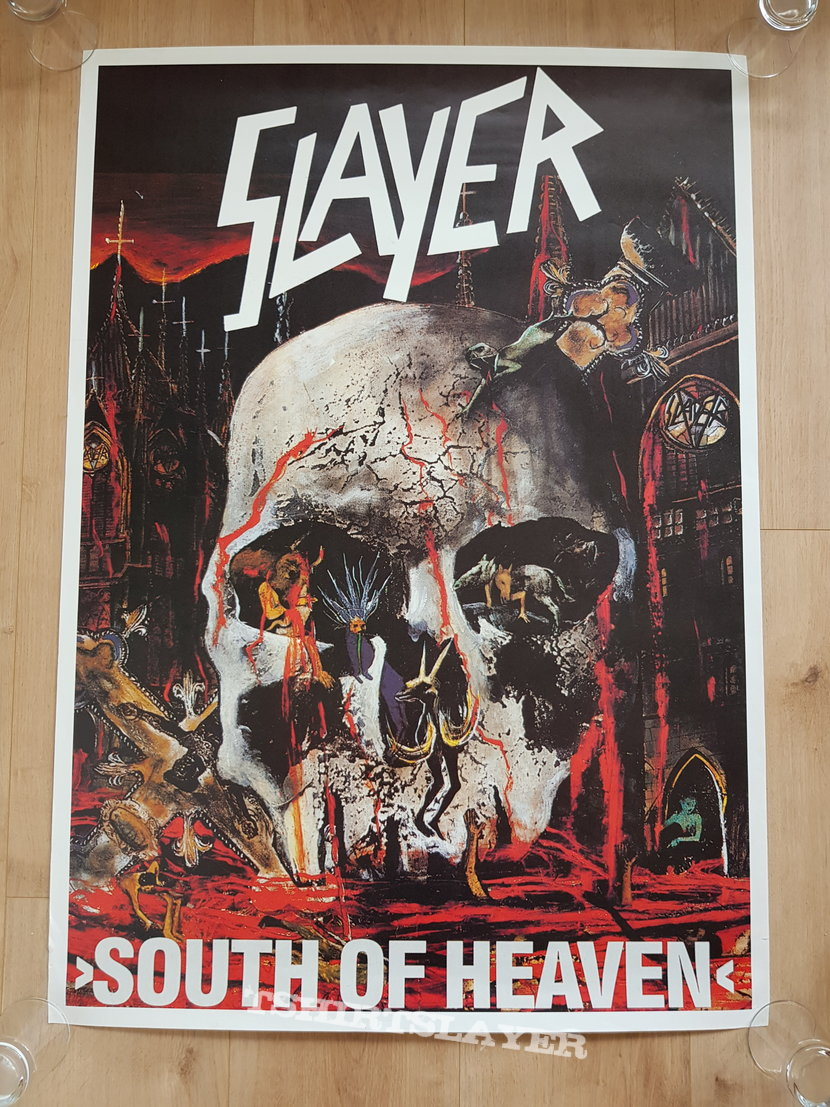 Slayer - South Of Heaven - promo poster