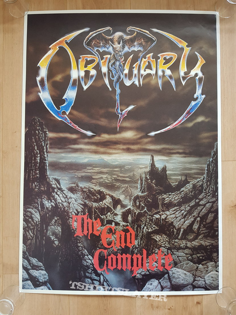 Obituary - The End Complete - promo poster