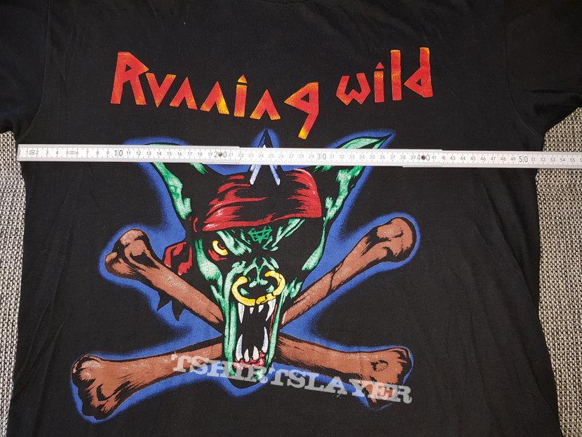 Running wild - Death Or Glory - vintage Tour Shirt