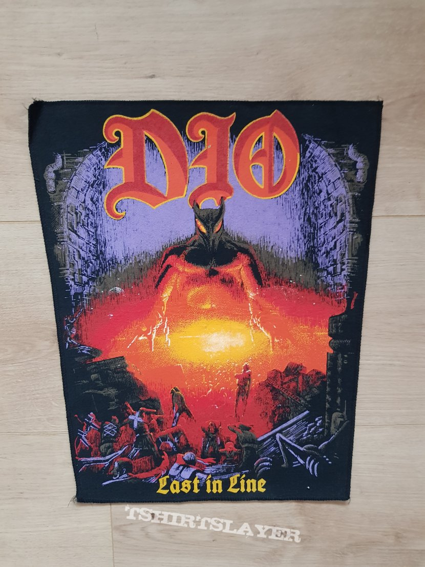 Dio - Last In Line - backpatch