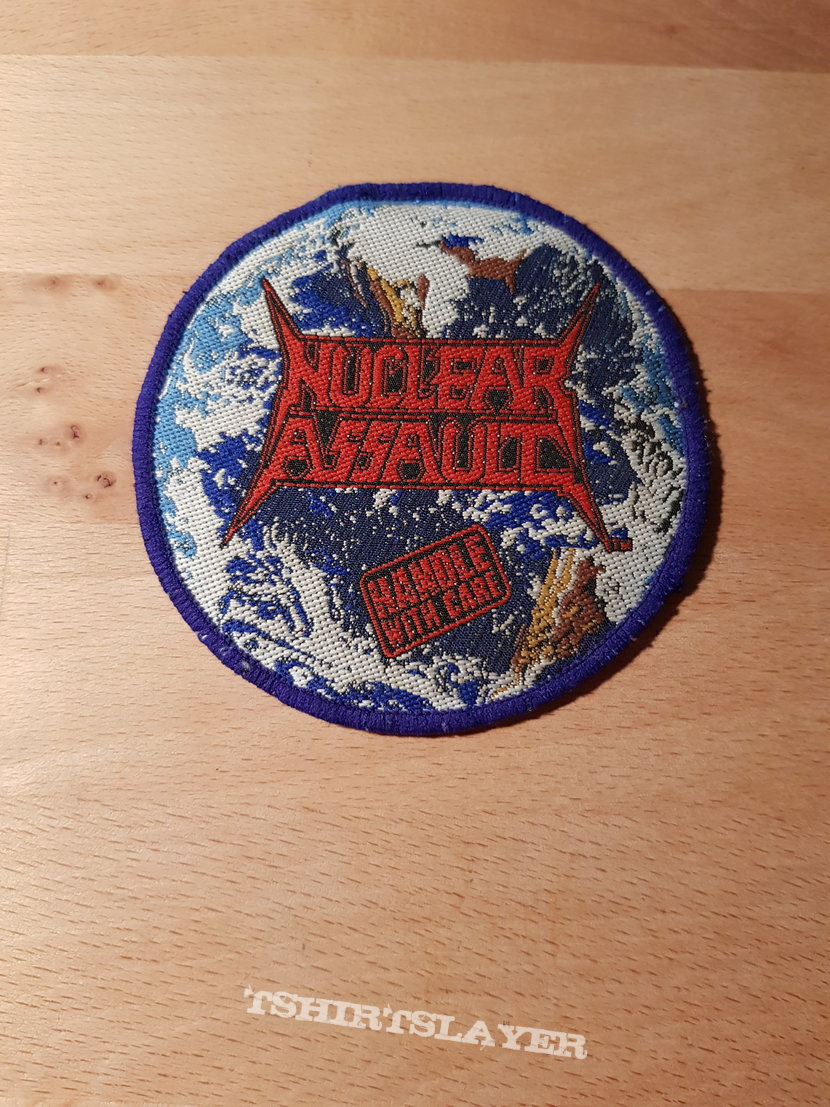 Nuclear Assault - Handle With Care - vintage patch