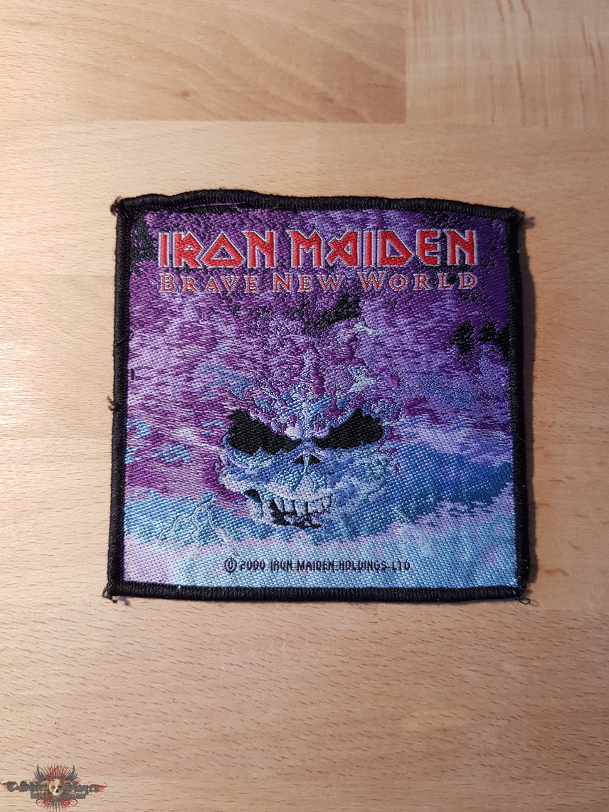 Iron Maiden - Brave New World - vintage patch