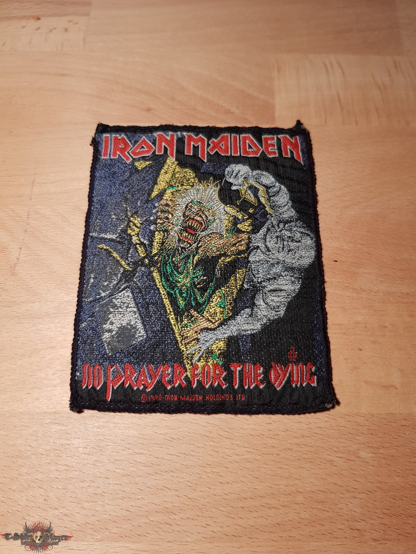 Iron Maiden - No Prayer For The Dying - vintage patch