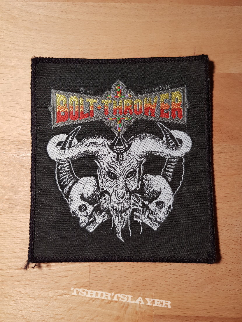 Bolt Thrower - Cenotaph - vintage patch