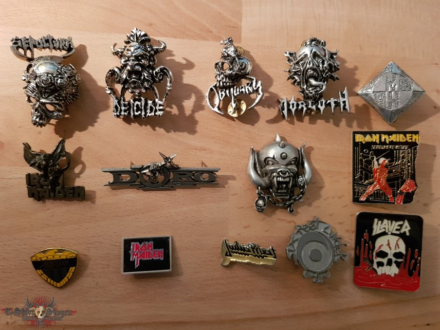 Some rare Metal Pins for you!!