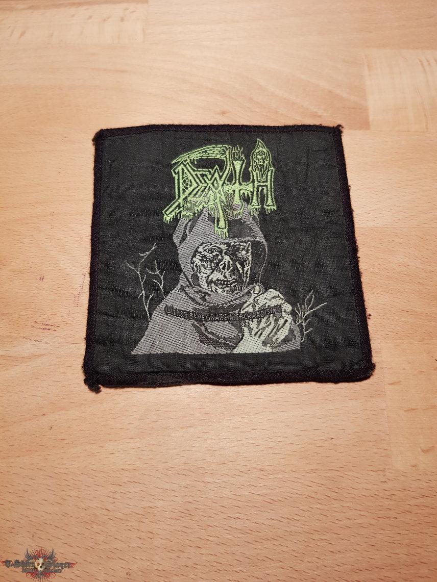 Death - Leprosy - vintage square patch