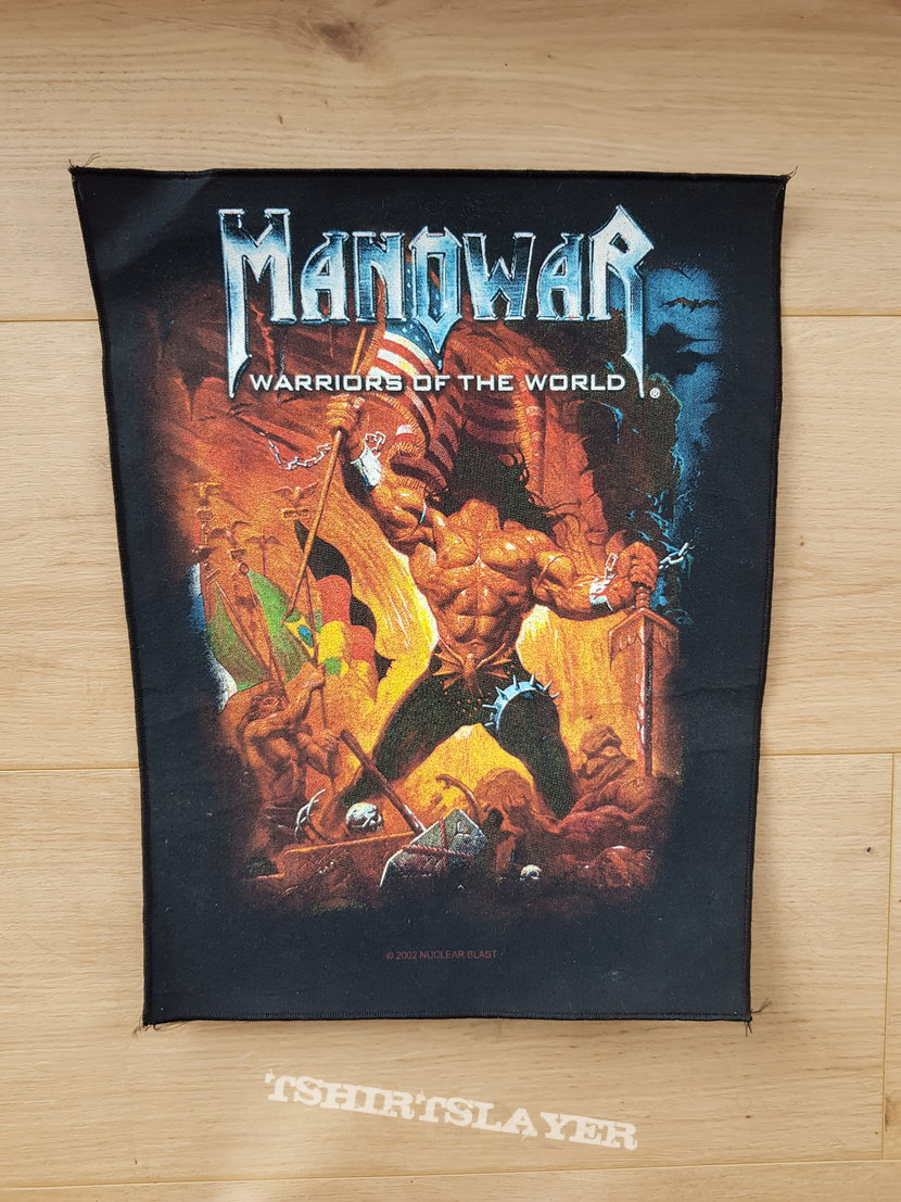 Manowar - Warriors Of The World - backpatch