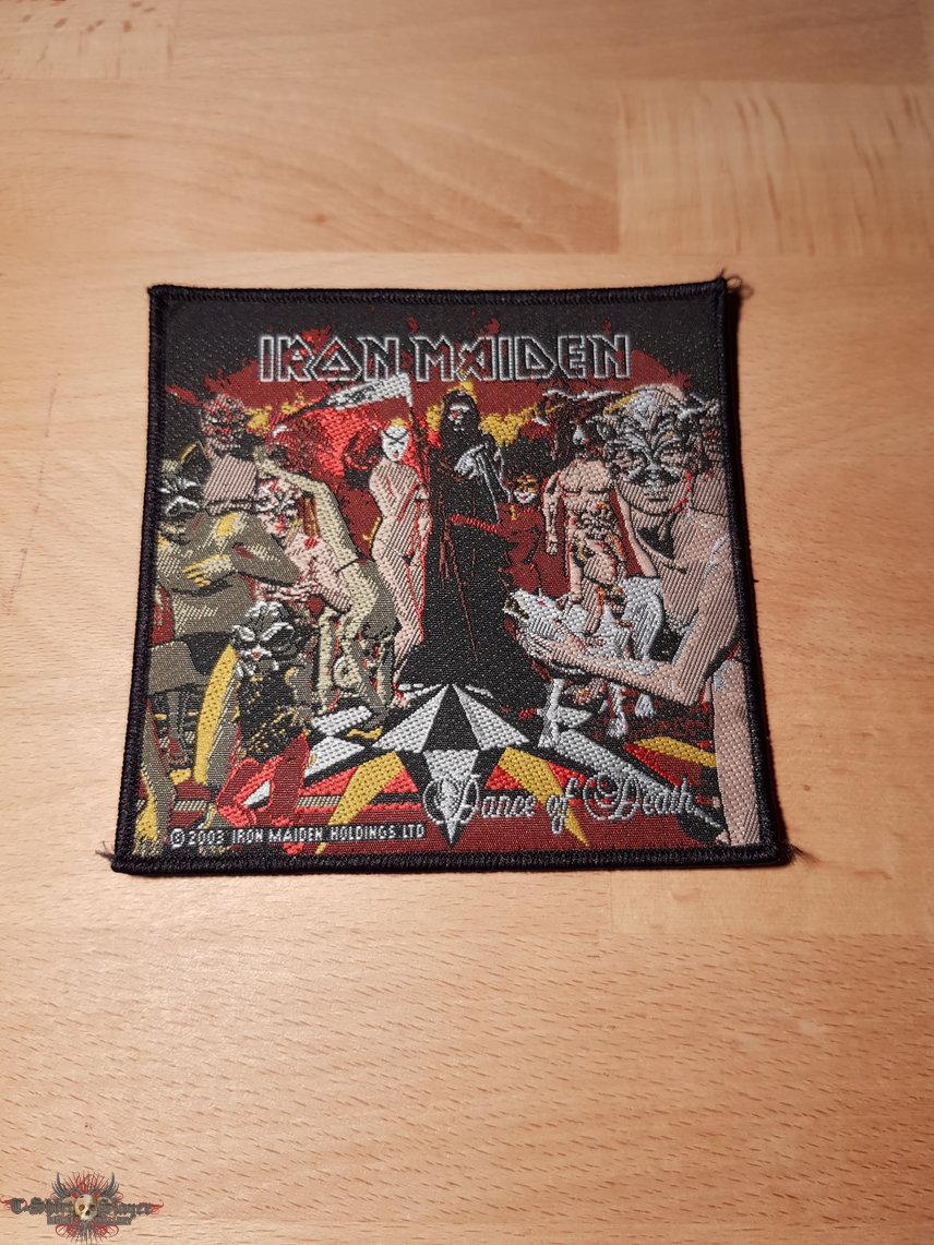 Iron Maiden - Dance Of Death - vintage patch