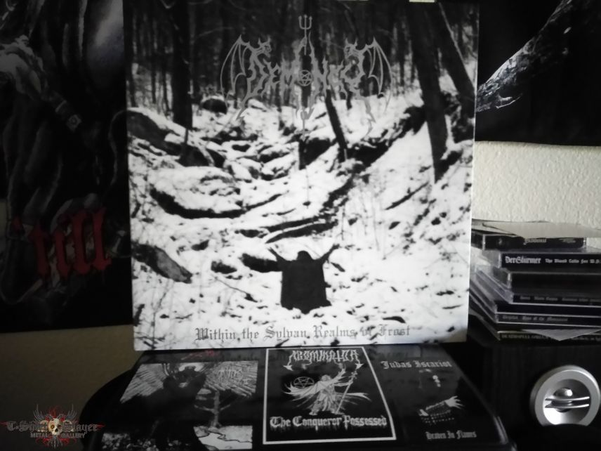 Demony - Within the Sylvan Realms of Frost LP & Poster