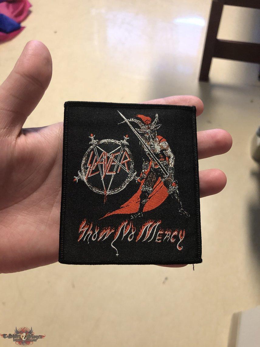 Slayer show no mercy patch