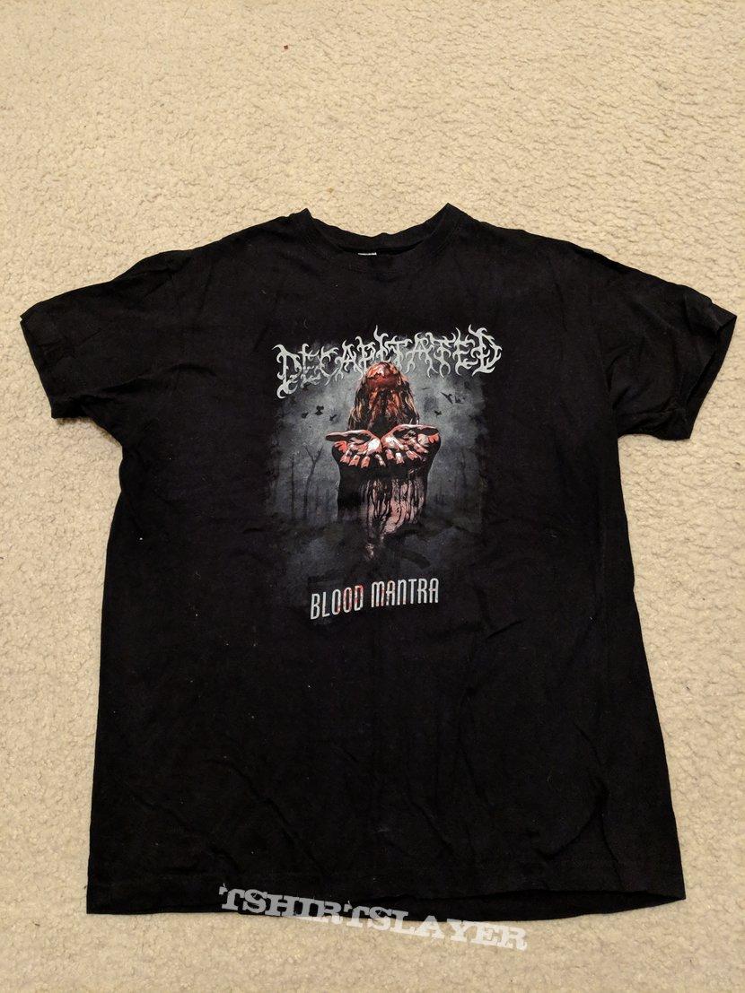 Decapitated - Blood Mantra shirt