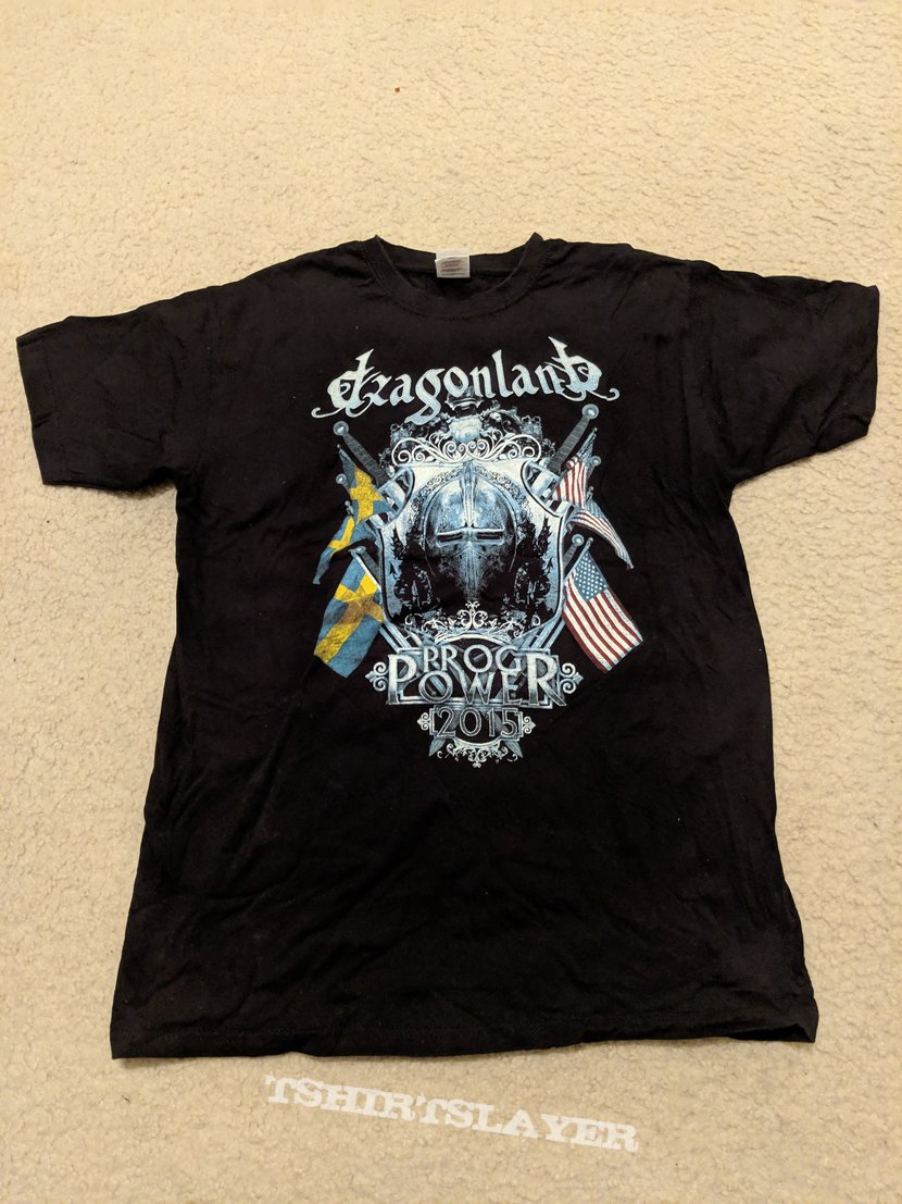 Dragonland - ProgPower USA 2015 concert shirt