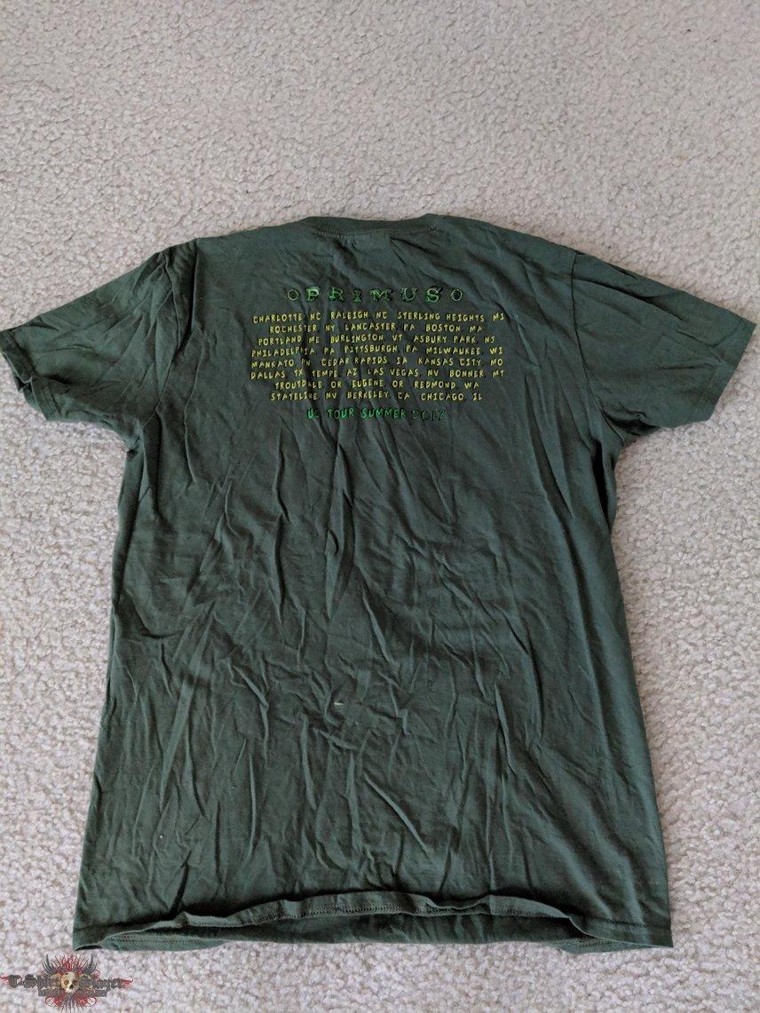 Primus - US Summer Tour 2017 shirt