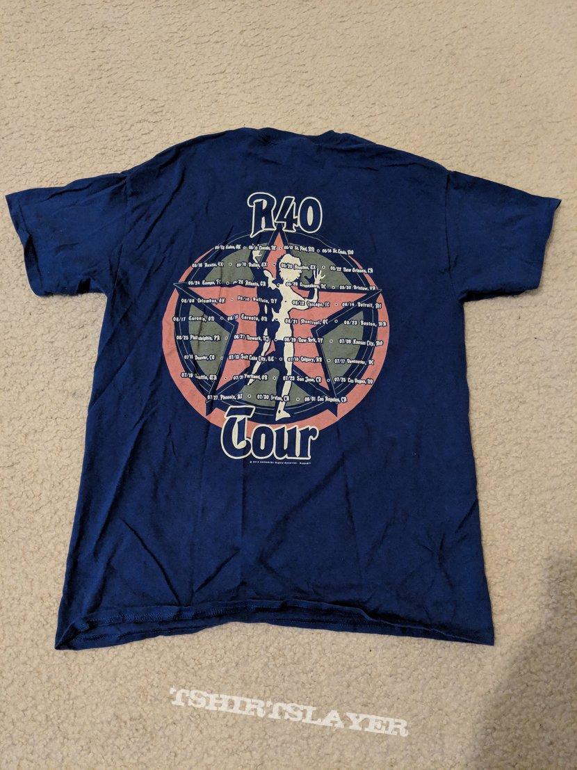 Rush - R40 2015 final tour shirt