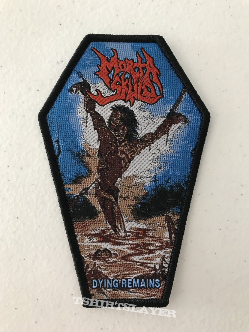 Morta Skuld - Dying Remains woven patch
