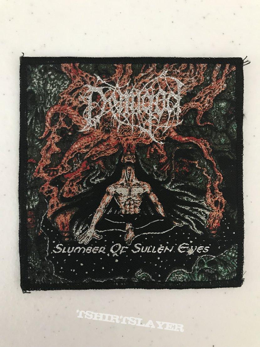 Demigod - Slumber of Sullen Eyes woven patch