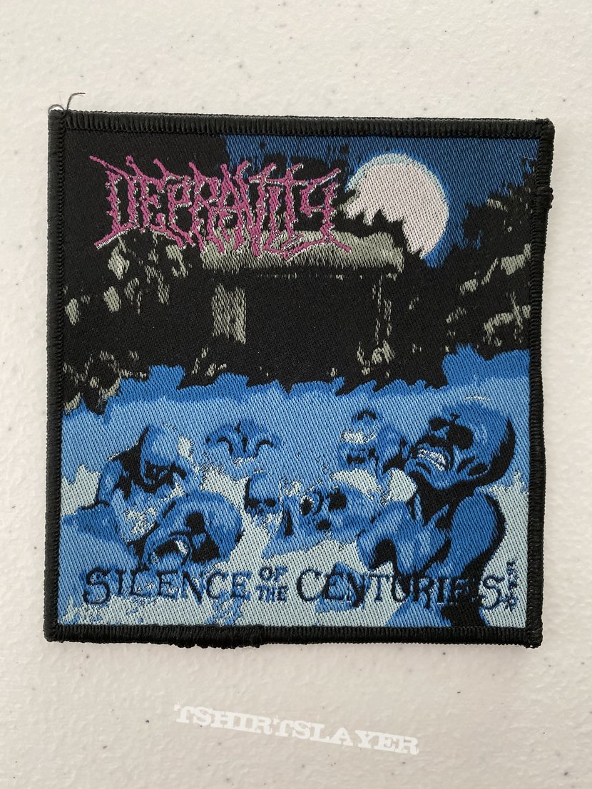 Depravity - Silence of the Centuries woven patch