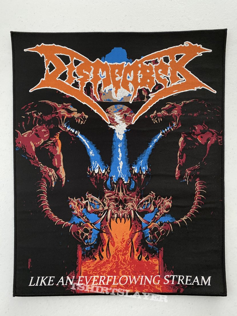 Dismember - Like An Everflowing Stream woven backpatch