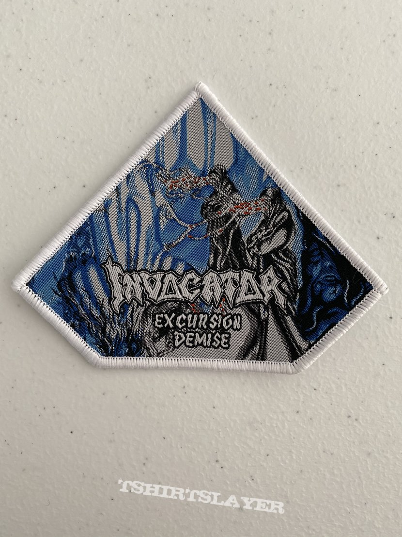 Invocator - Excursion Demise woven patch