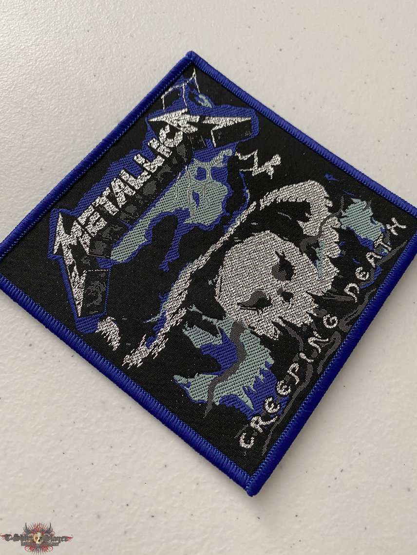 Metallica — Creeping Death woven patch
