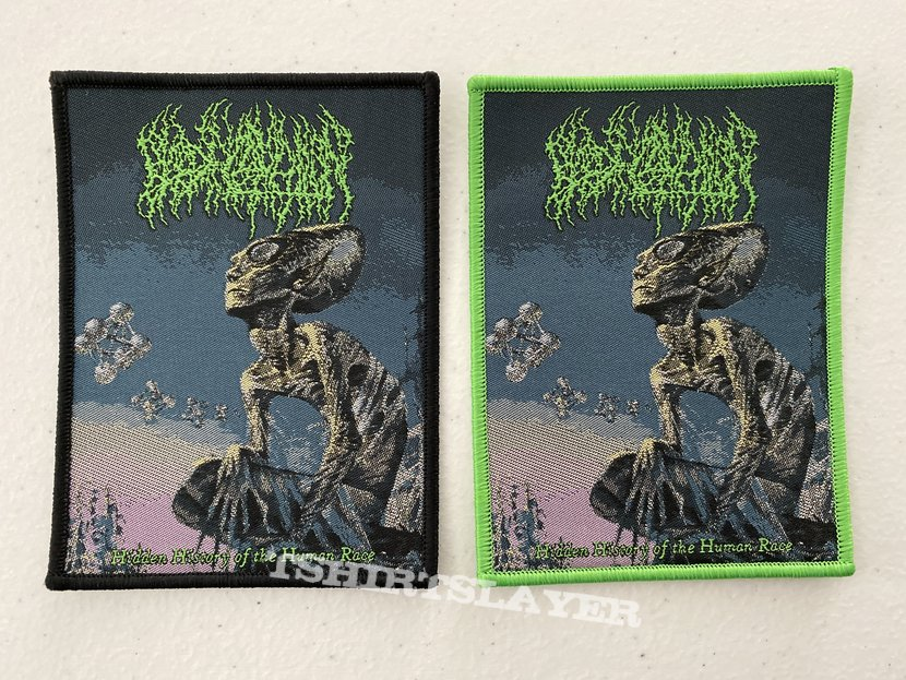 Blood Incantation - Hidden History of the Human Race woven patch