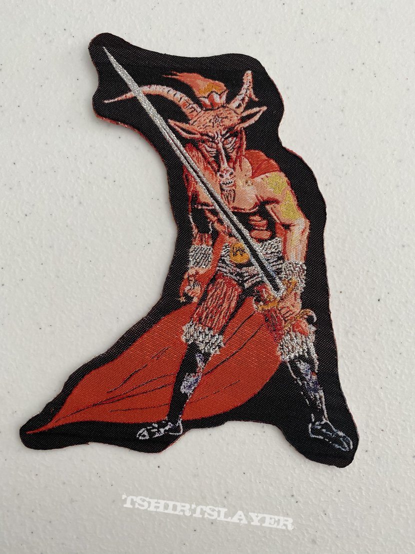 Slayer - Show No Mercy shaped woven patch