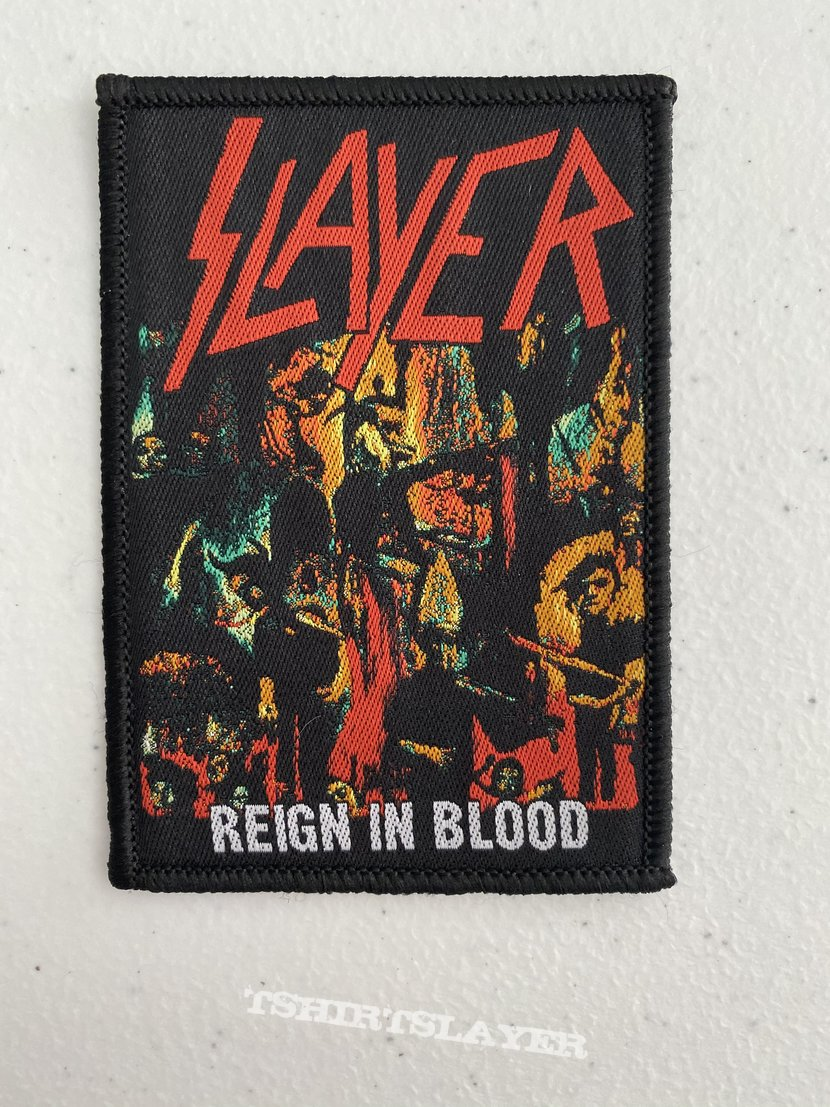 Slayer - Reign In Blood woven patch