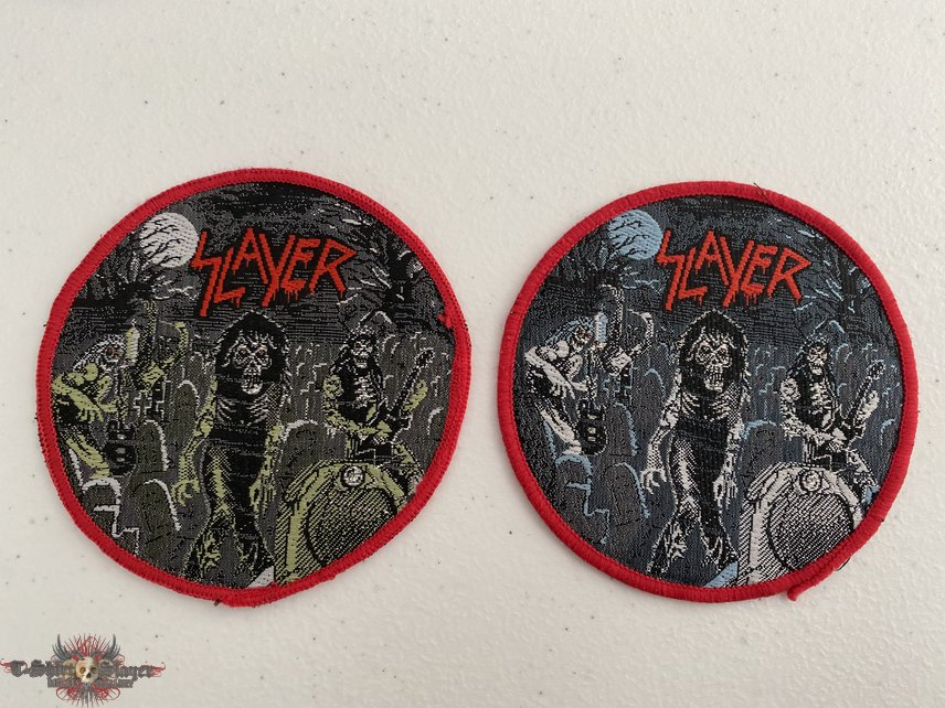 Slayer - Live Undead woven patch