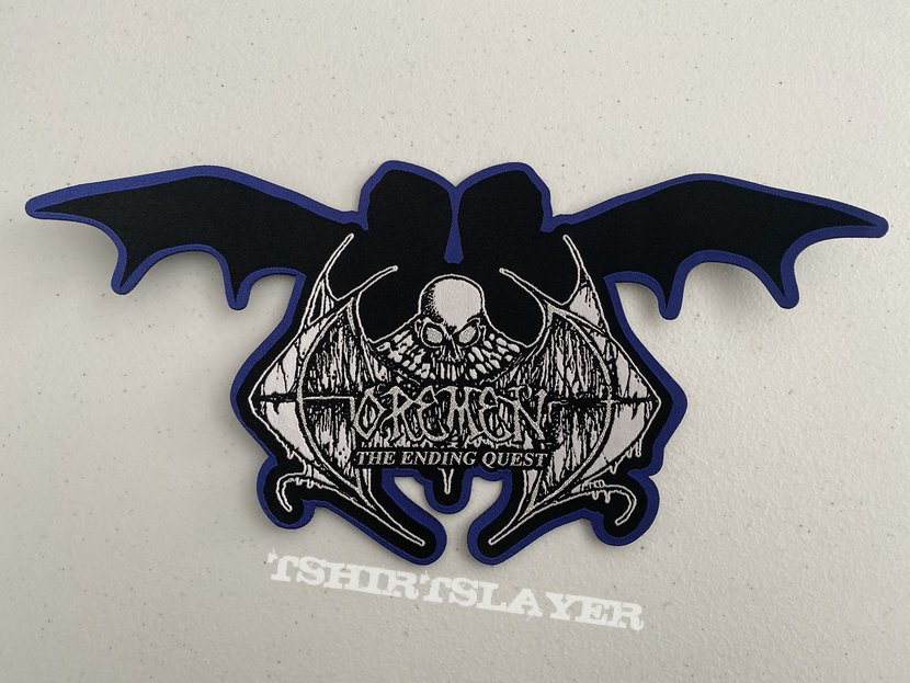 Gorement - The Ending Quest woven backpatch