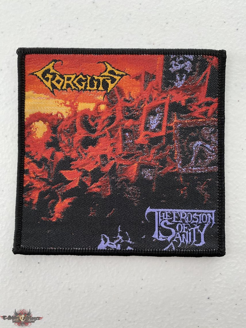 Gorguts - The Erosion of Sanity woven patch