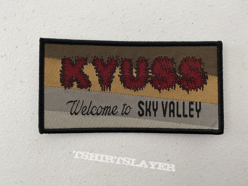 Kyuss - Welcome to Sky Valley woven patch