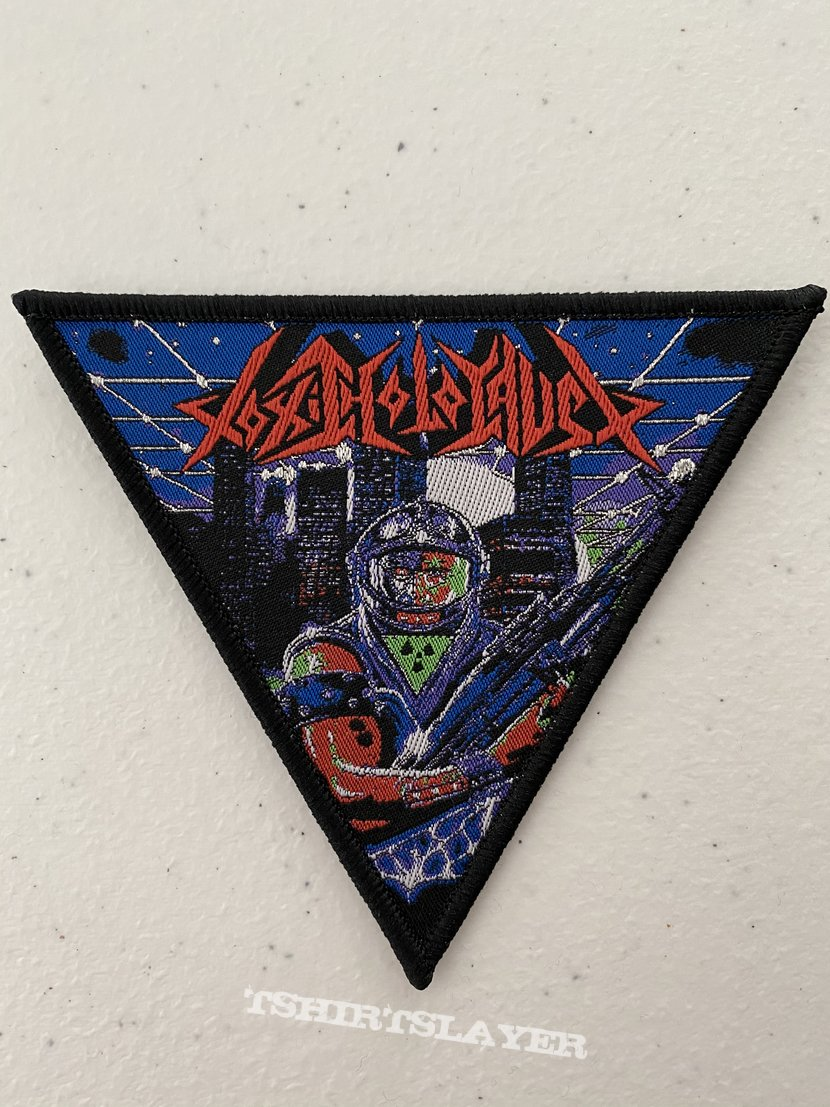 Toxic Holocaust — Primal Future: 2019 woven patch