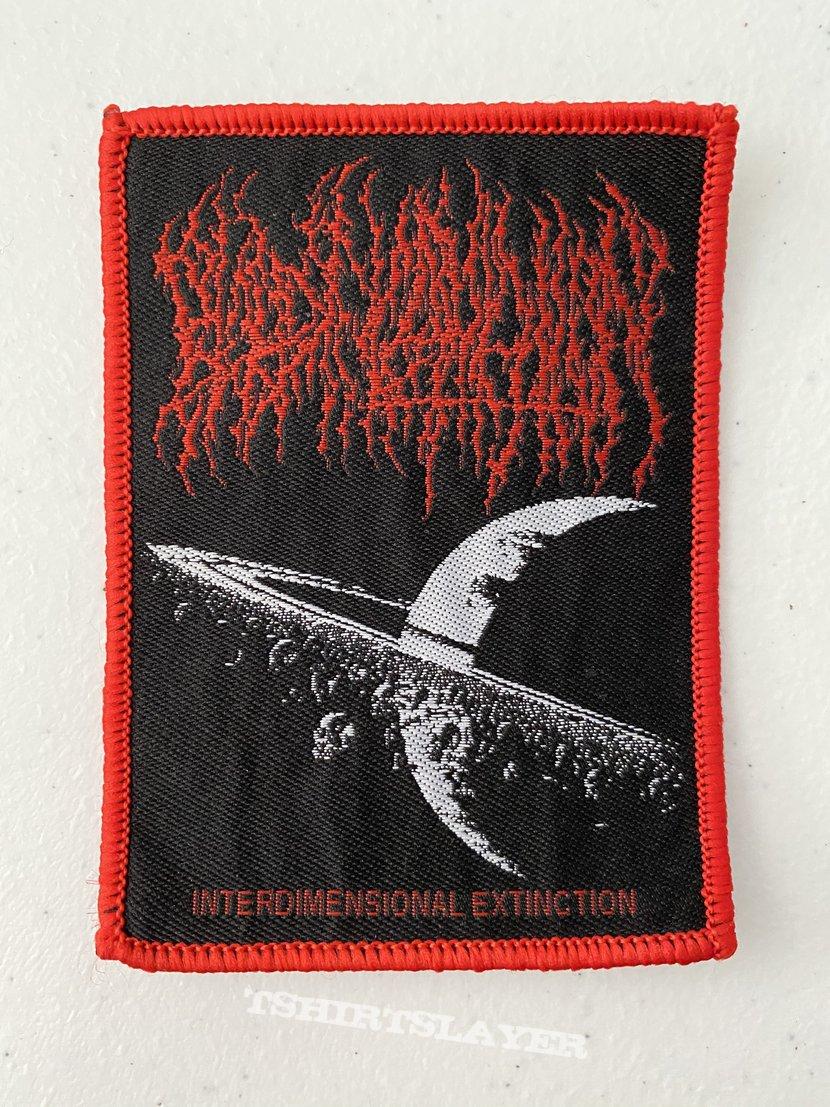 Blood Incantation — Interdimensional Extinction woven patch