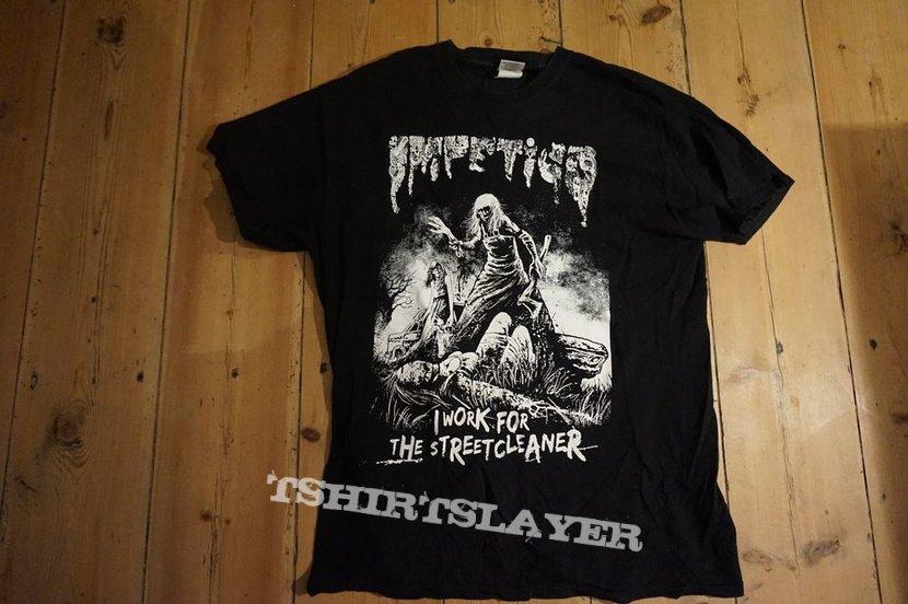 Impetigo - I Work for the Streetcleaner tshirt