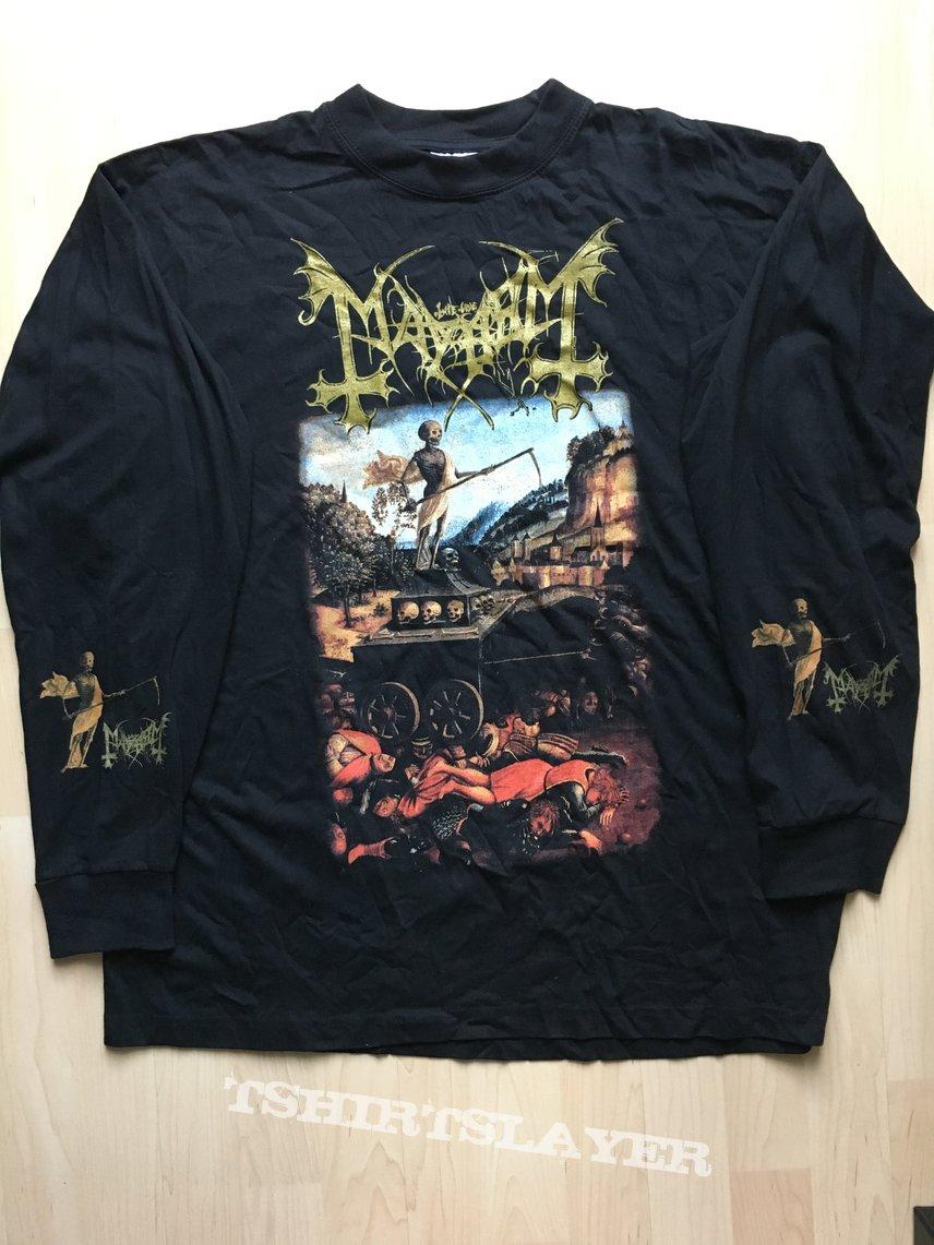 "Mayhem ""River Of Blood"" Longsleeve XL"