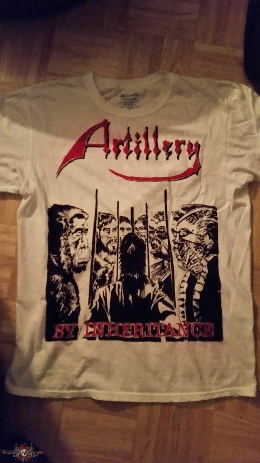 Artillery - By Inheritance shirt custom