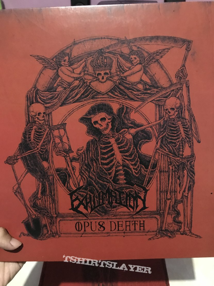 Vinyl Exhumation - Opus Death