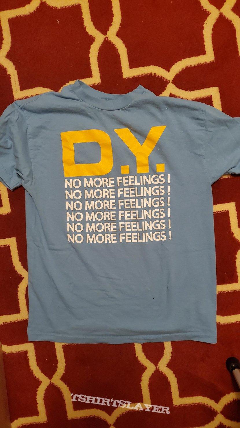 No More Feelings Light Blue shirt