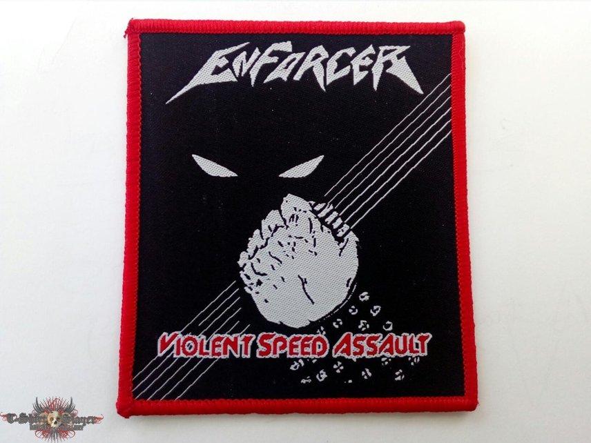 Enforcer Violent Speed Assault patch