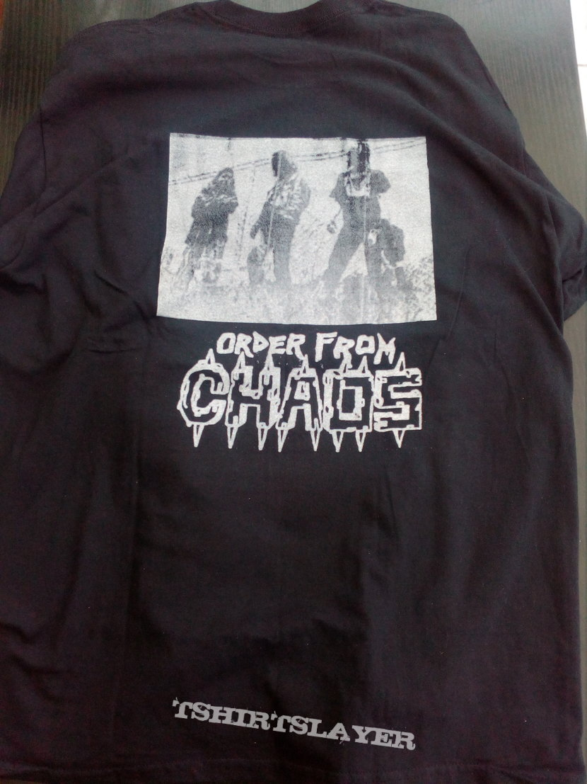 Order From Chaos Will to Power longsleeve