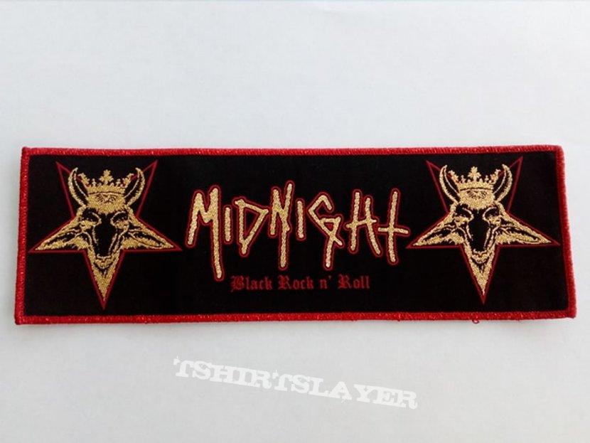 Midnight Black Rock N' Roll patch