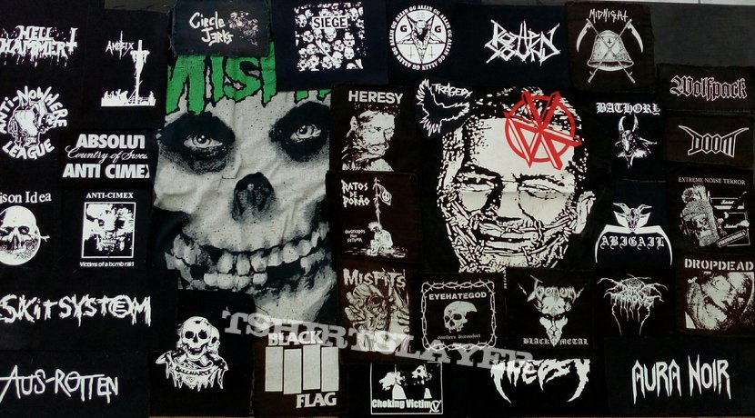 """Crust patch """"collection"""""""